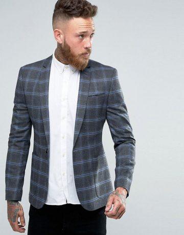 grey-blue-checkered-blazer-1
