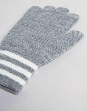 adidas Originals Gloves In Grey AY9076