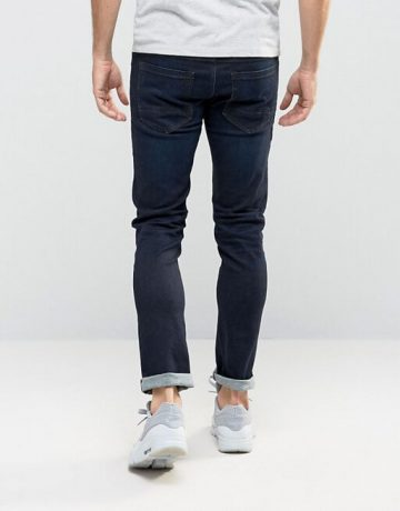 BOSS Orange By Hugo Boss 72 Skinny Fit Jeans Dark Wash