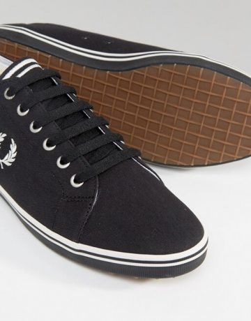 Fred Perry Kingston Twill Plimsolls