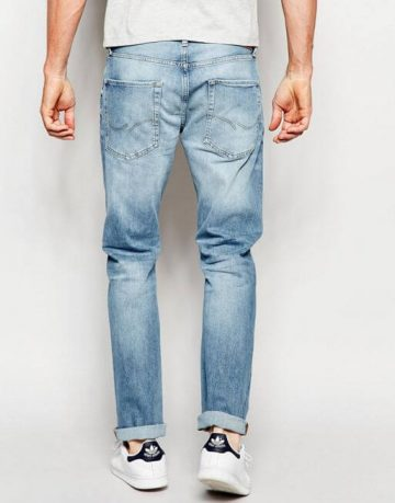 Jack & Jones Light Wash Jeans in Straight Fit