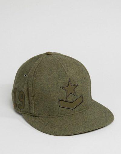 Diesel Wool Baseball Cap