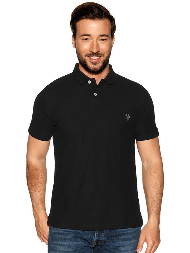 U.S. Polo Assn. Poloshirt Logo gestickt
